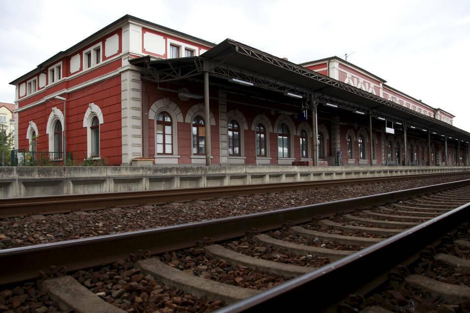 In der ersten Juni-Woche ist am Löbauer Bahnhof ein Unfall passiert.