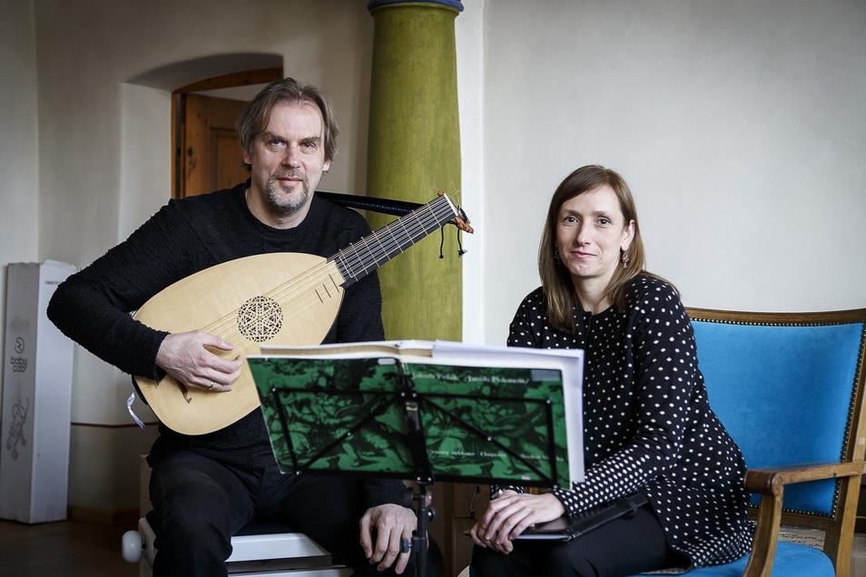 Maria Skiba und Frank Pschichholz