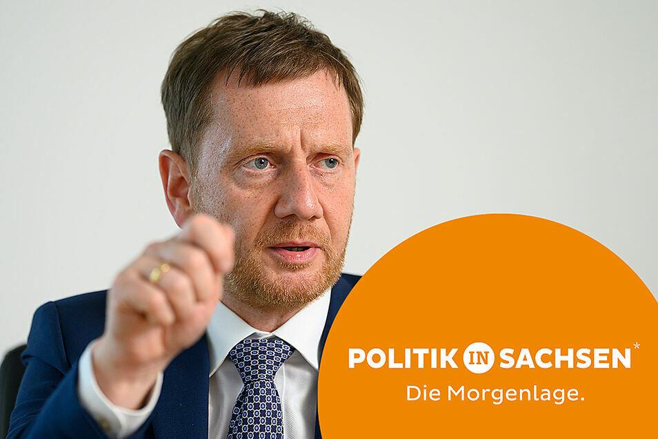 Michael Kretschmer fand in Berlin deutliche Worte zu seiner Partei.