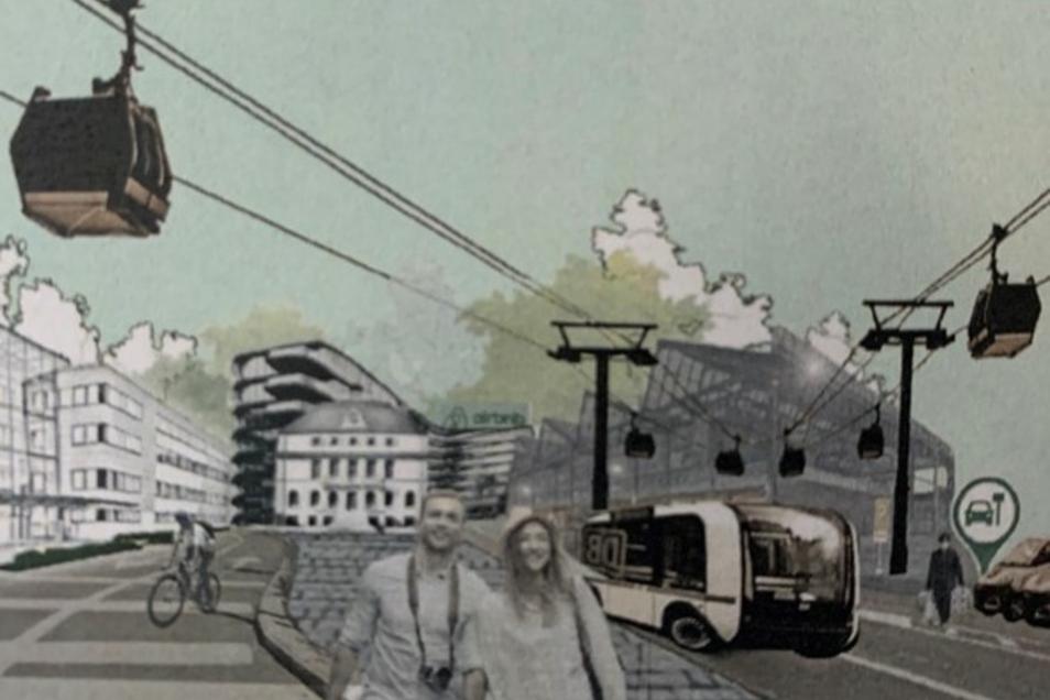 """Diese Collage entstand in Zusammenhang mit dem Forschungsobjekt """"Glashütte Neustadt""""."""