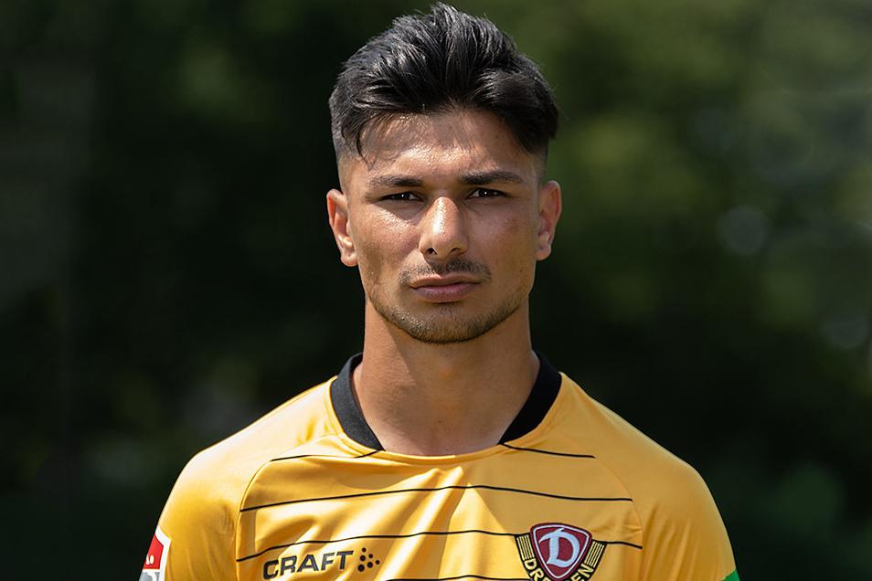 Osman Atilgan galt bei Dynamo als Stürmer-Talent, nun soll er verteidigen. Kann das klappen?