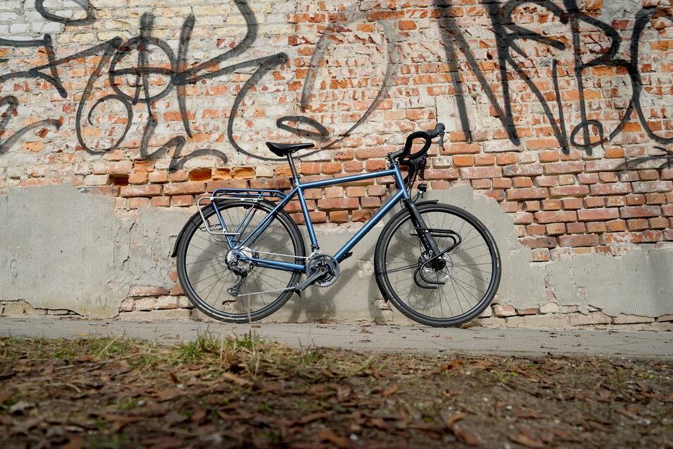 """Schneller reisen: Der deutsche Hersteller Tout Terrain nennt sein Modell Blueridge GT einen """"Performance-Asphalt-Tourer""""."""