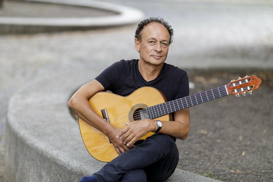 Der Gitarrist Lothar Gärtig hat zahlreichen Kindern und Jugendlichen die Liebe zum Gitarrespielen vermittelt.