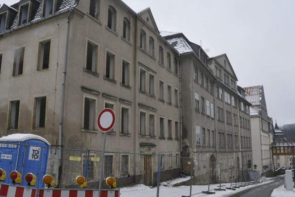 Für ihren vierten Regionalkrimi aus der Sächsischen Schweiz hat sie auch mögliche Schauplätze in Sebnitz wie die einstige Kunstblumenfabrik besucht.