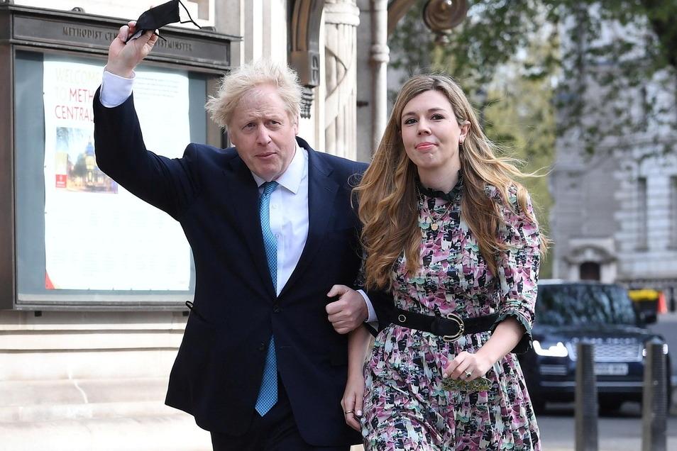 Boris Johnson, und Carrie Symonds