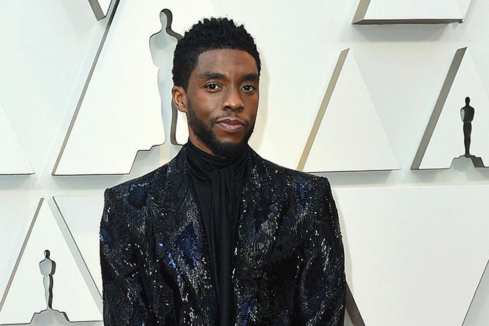 Chadwick Boseman kommt zur Verleihung der 91. Academy Awards, den Oscars 2019, über den Roten Teppich ins Dolby Theatre.
