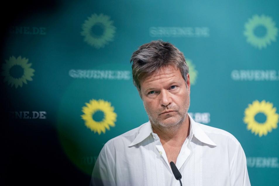 Robert Habeck, Co-Parteichef von Bündnis 90/Die Grünen.