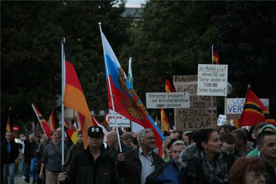 Ein Delegierter aus Russland.