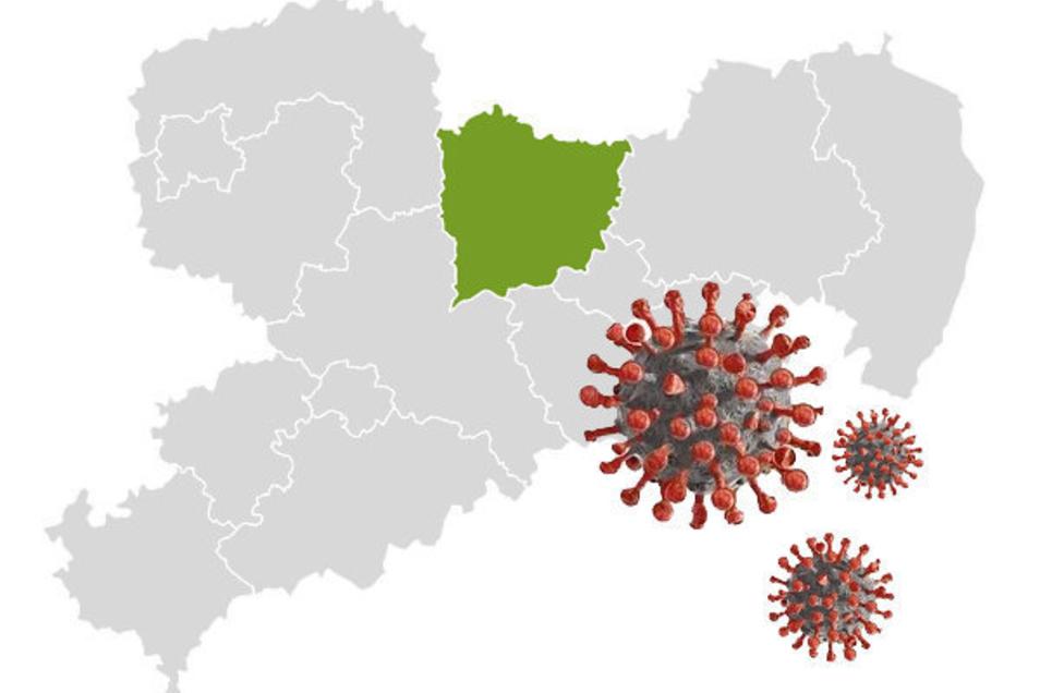 Das Coronavirus ist seit Wochen auch im Kreis Meißen aktiv. Doch der Anstieg der Infizierten lässt deutlich nach.