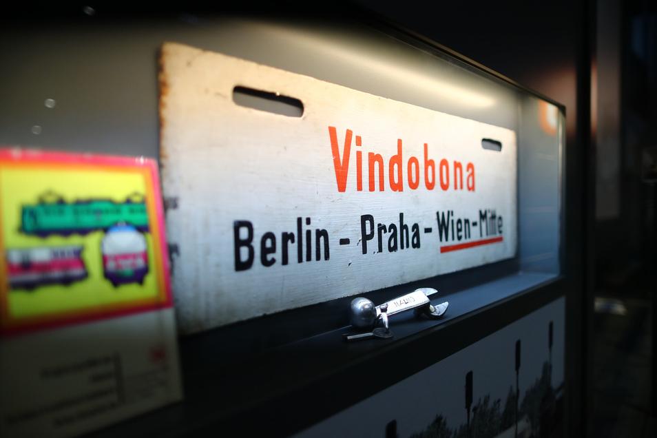 """""""Vindobona""""-Züge von Berlin über Dresden und Prag nach Wien fuhren von 1957 bis 2014.Jetzt wird die Verbindung reaktiviert."""