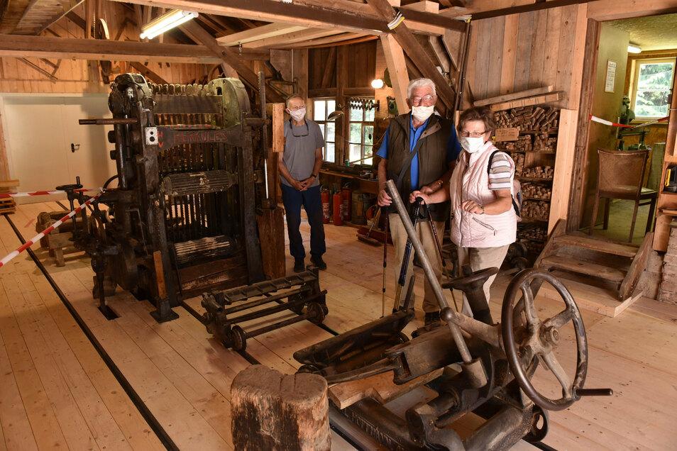 Mit entsprechenden Vorsichtsmaßnahmen sind technische Denkmale wie hier die Herklotzmühle in Seyde zum Denkmalstag zu besichtigen.