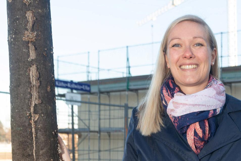 """Laura Girke, die neue Chefin des ehemaligen """"Johannstädters"""""""