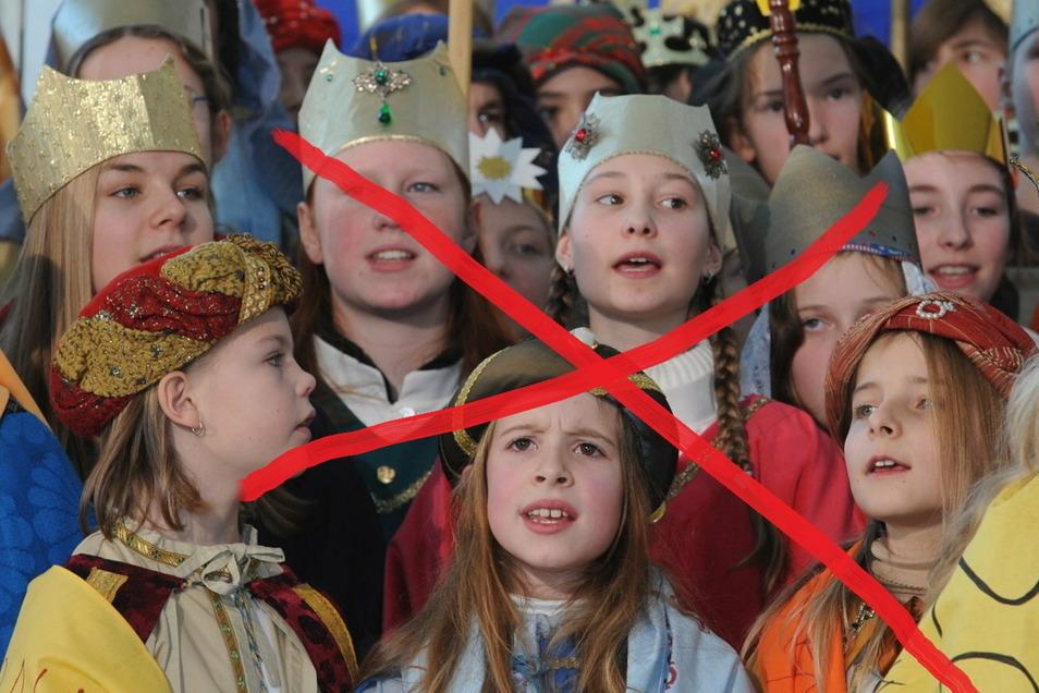 Jedes Jahr verkleiden sich in Deutschland rund 300.000 Kinder als die Heiligen Drei Könige und sammeln Spenden für Kinder in aller Welt, denen es nicht so gut geht. Wegen der Corona-Pandemie ist das diesmal nicht möglich.
