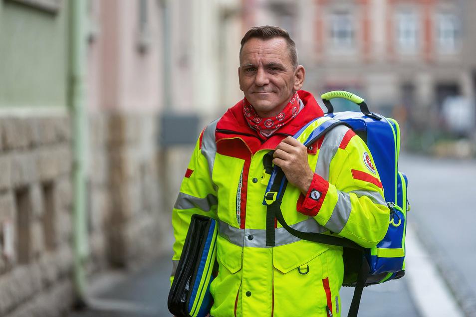 Stephan Kays, Leiter des PSNV-Teams: Wir sind jeden Tag 24 Stunden in Bereitschaft.