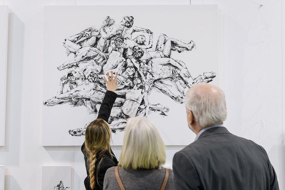 Hier gibt es Kunst - für wahre Kenner oder Hobbymaler.