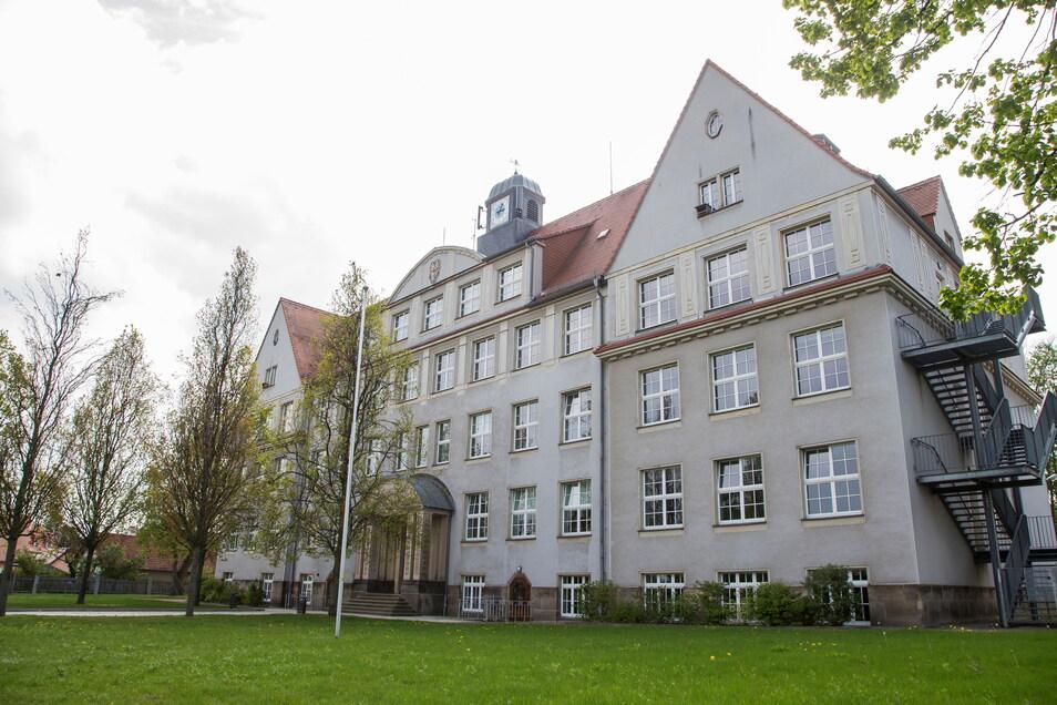 Für die Oberschule in Wilsdruff gibt es zwar aktuelle Anbaupläne. Aber die reichen nicht, um den Bedarf der Nachbargemeinden von Dresden zu decken.