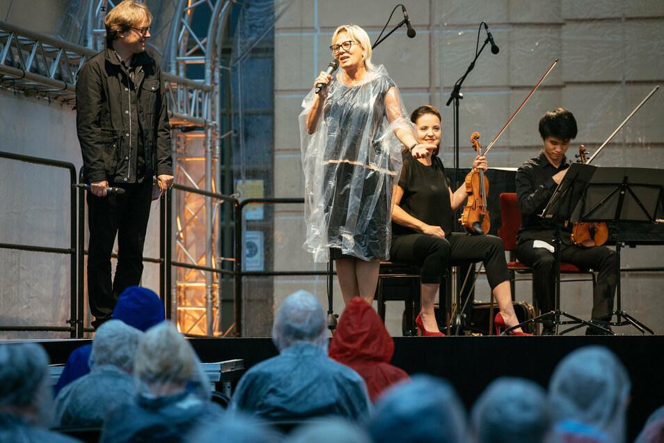 Kulturministerin Barbara Klepsch (CDU) und Jan Vogler, der künstlerische Leiter, eröffneten das Festival.