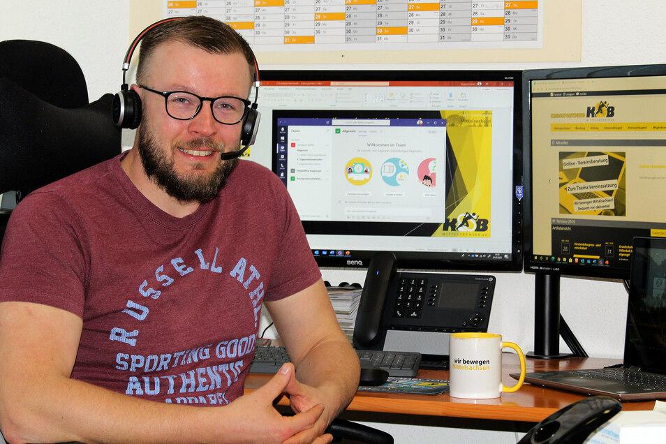 Der Geschäftsführer des Kreissportbundes Mittelsachsen Benjamin Kahlert lädt zu einem Onlineseminar ein. Dieses wird gemeinsam mit dem Kreisfeuerwehrverband organisiert.