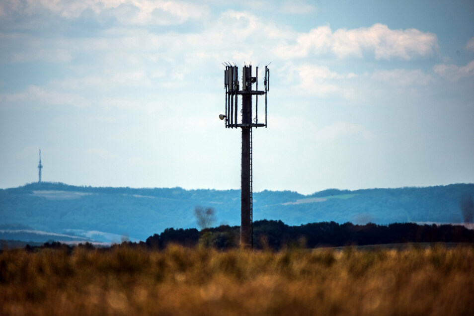 Mobilfunkmasten wie diese sollen in Lommatzsch für den Mobilfunkdienst 5G umgerüstet werden.