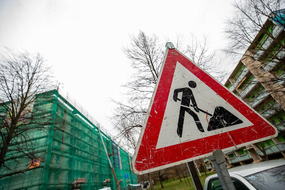 WGP-Bauvorhaben an der Lindenstraße in Copitz: Alles läuft weiter nach Plan.
