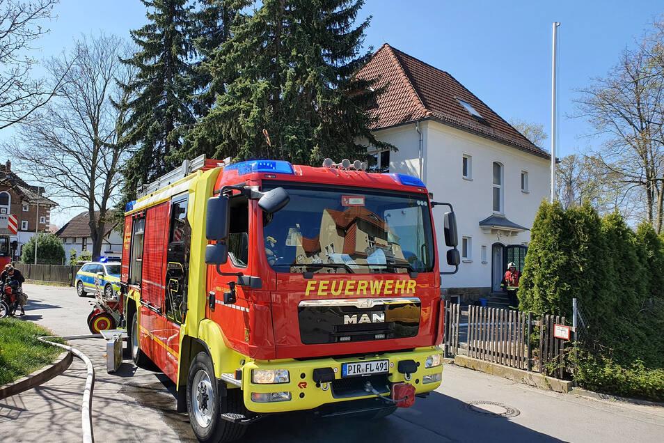 Die Feuerwehr musste am Mittwoch gleich dreimal ausrücken.