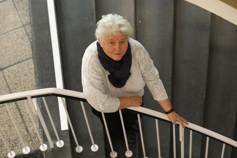 Hella Trillenberg war 34 Jahre an der Zittauer Hochschule tätig. Nun nimmt sie Abschied.
