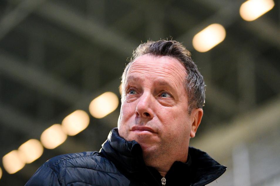 Trainer Markus Kauczinski war nach der Niederlage in München sauer.