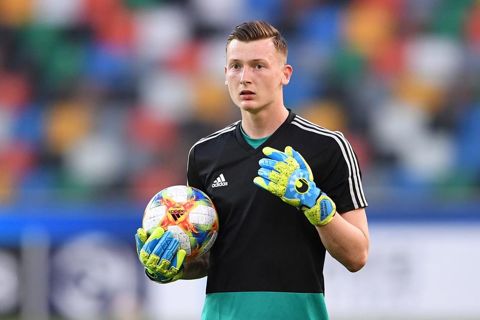Markus Schubert spielt mit der U21-Nationalelf auch in Sachsen.