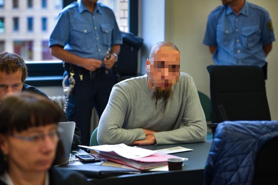 """Benjamin Z. gilt als Anführer der """"Freien Kameradschaft Dresden"""". In seiner Gefängniszelle wurde ein Handy entdeckt."""