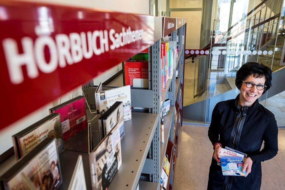 Ines Thoermer, Leiterin der Görlitzer Stadtbibliothek.