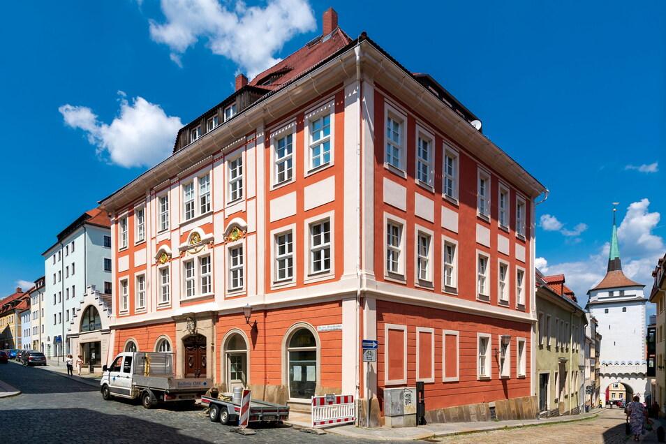Das Barockhaus An den Fleischbänken 7 in Bautzen wird derzeit saniert und umgebaut. Hier entstehen neue Wohn- und Gewerberäume.