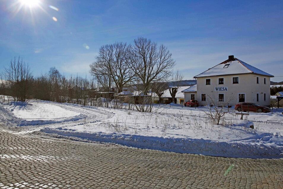 Im Bereich der ehemaligen Verladezone des alten Wiesaer Bahnhofs könnten in den nächsten Jahren 16 Eigenheime entstehen.