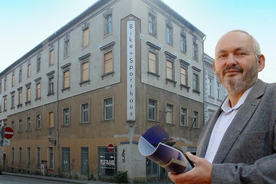 Gerhard Richert will die Innere Weberstraße 31 auf Vordermann bringen.