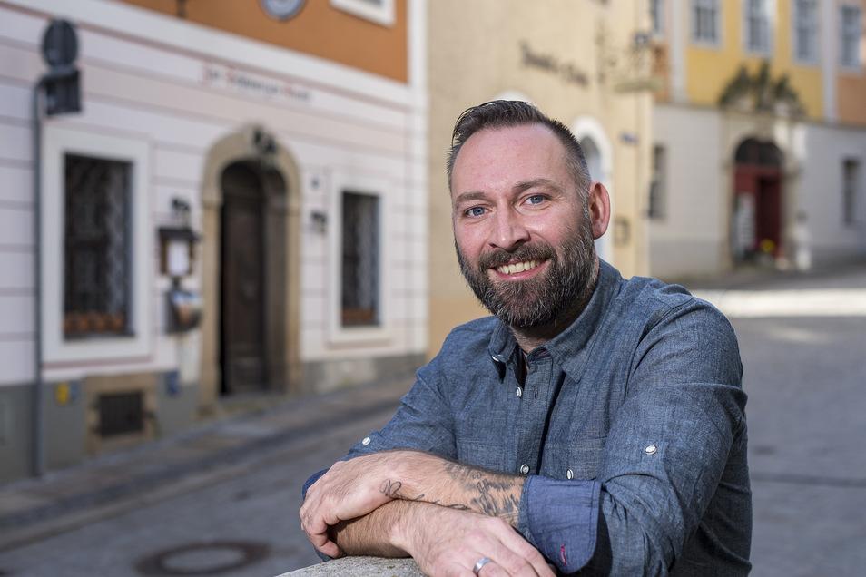 Robert Chylla öffnet erst am 12. Juni seine Gaststätte in der Görlitzer Altstadt.