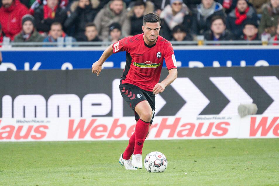 Marco Terrazzino soll Schwung ins Spiel von Dynamo bringen.