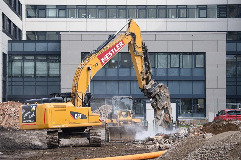 Der Bau hat bereits begonnen. Bis zum Ende des dritten Quartals 2025 soll alles fertig sein.