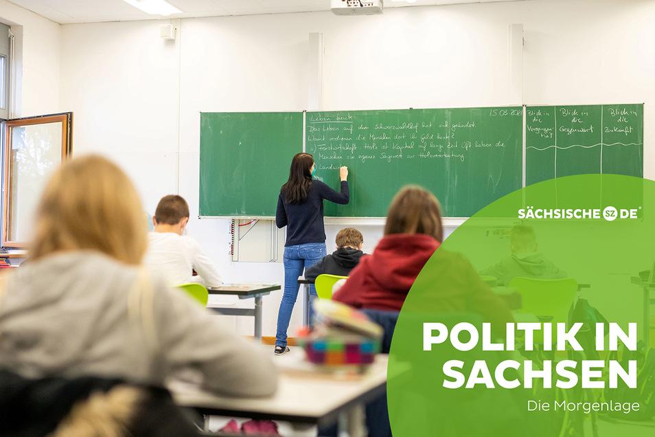 Heute stellt die sächsische Landesregierung die neuen Corona-Regeln vor. Ein wichtiges Ziel dabei ist, Schulen offen zu halten.