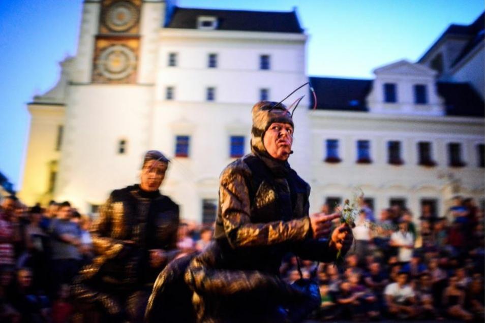 Eine der beliebtesten Veranstaltungen für Fotografen: das Via Thea, hier 2014 auf dem Görlitzer Untermarkt.
