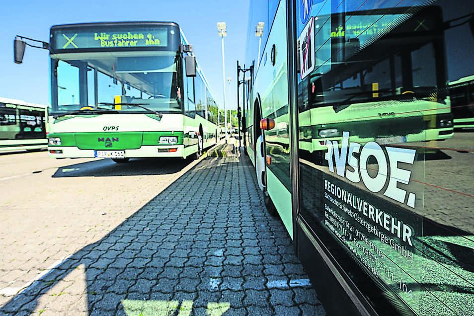 Von Sebnitz nach Dresden fahren am Montag täglich mehr Busse.