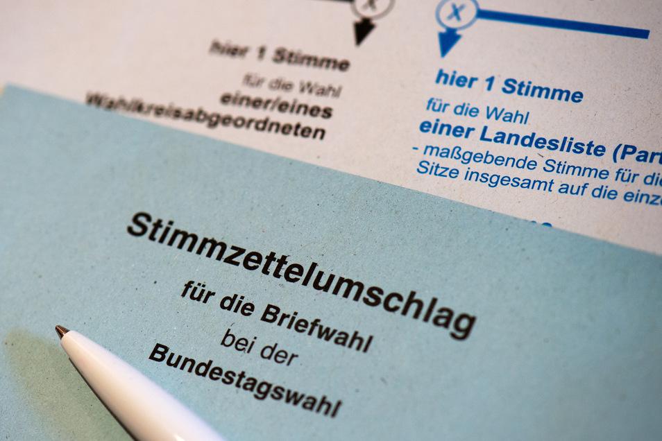Jeder Wahlberechtigte hat bei der Bundestagswahl zwei Stimmen.