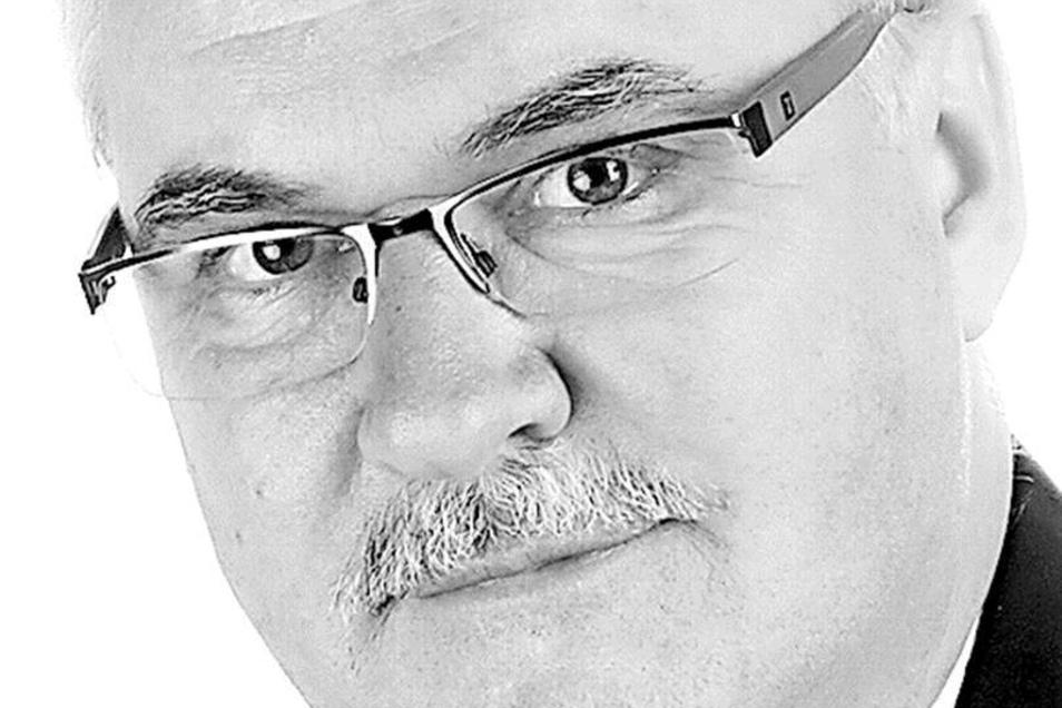 Matthias Suchy (57), CDU-Spitzenkandidat