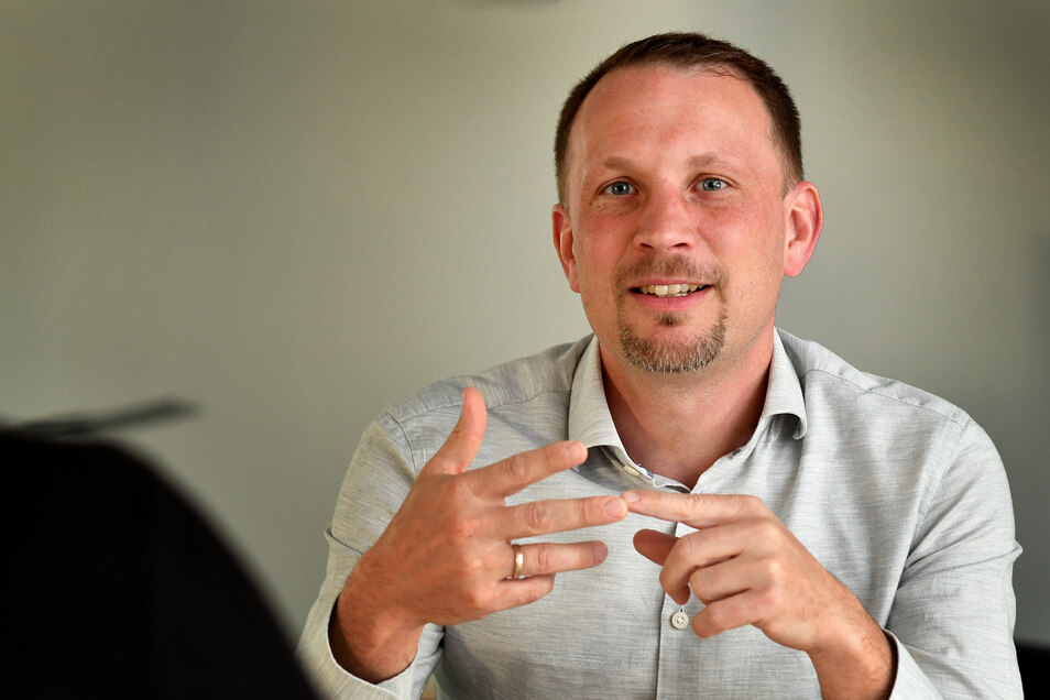 Thomas Kolbe, Präsident der IHK Mittelsachsen, hofft nach der Landtagswahl auf eine schnelle und stabile Regierung.