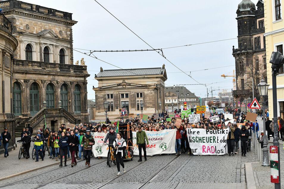 Auch in Sachsen sind die Fridays for Future Demonstrationen