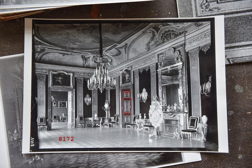 An historischen Fotos orientierten sich auch die Handwerker der Firma Spiegelart Weißwasser.