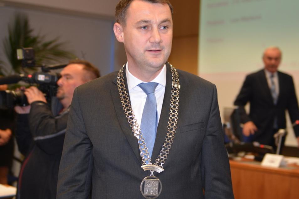 Martin Puta ist Ex-Bürgermeister von Hradek und Liberecer Bezirkshauptmann.