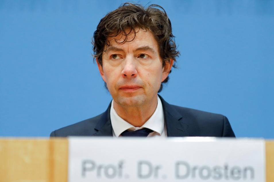 Christian Drosten ist Leiter der Virologie der Berliner Charité.