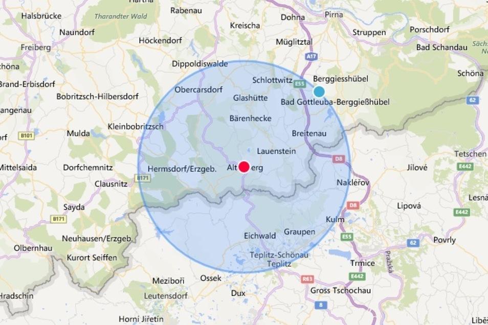 15 Kilometer um den eigenen Wohnort darf Sport gemacht werden. Dresdner wird man deshalb nicht auf Altenbergs Skihängen finden.