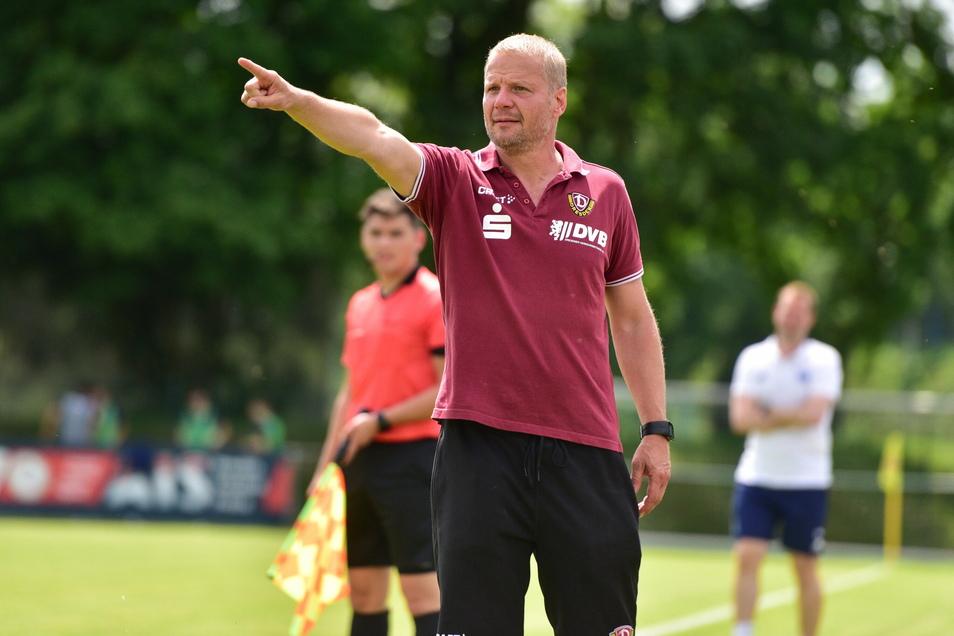 Dynamos Nachwuchschef Jan Seifert sorgt sich um die langfristigen Folgen der Corona-Spielpause.