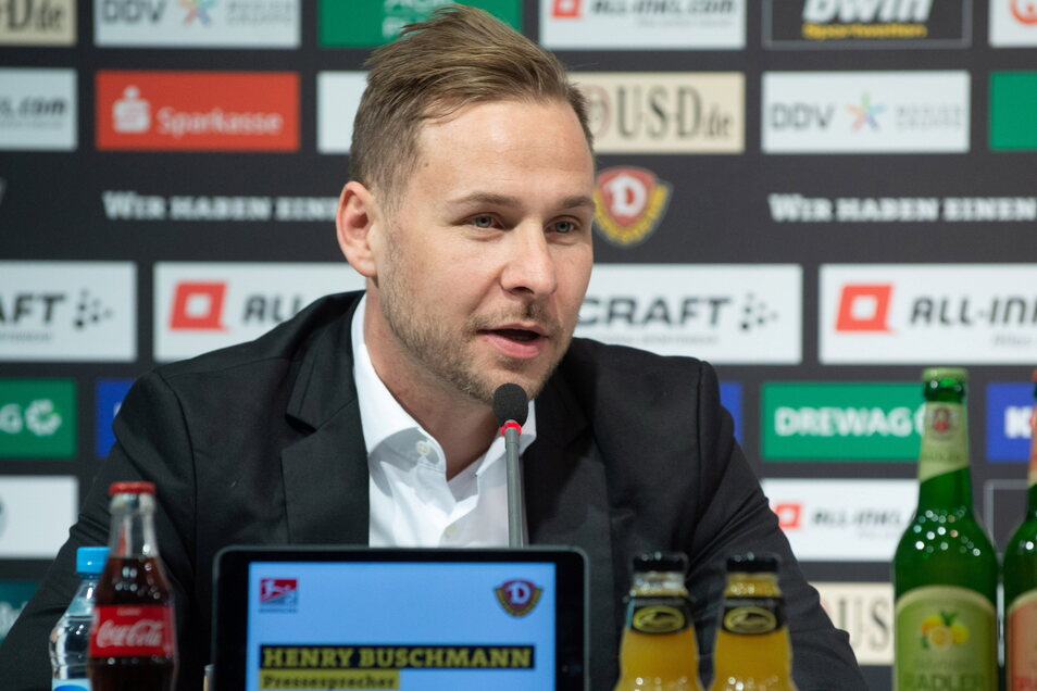 """Abwesenheitsnotiz von Dynamos Pressesprecher Henry Buschmann: """"Ich befinde mich derzeit nicht im Büro."""""""