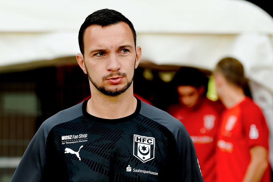 Daniel Ziebig ist seit Juni Co-Trainer beim Halleschen FC. Bei Dynamo hat er einst als junger Spieler ein für den Verein überlebenswichtiges Tor erzielt.
